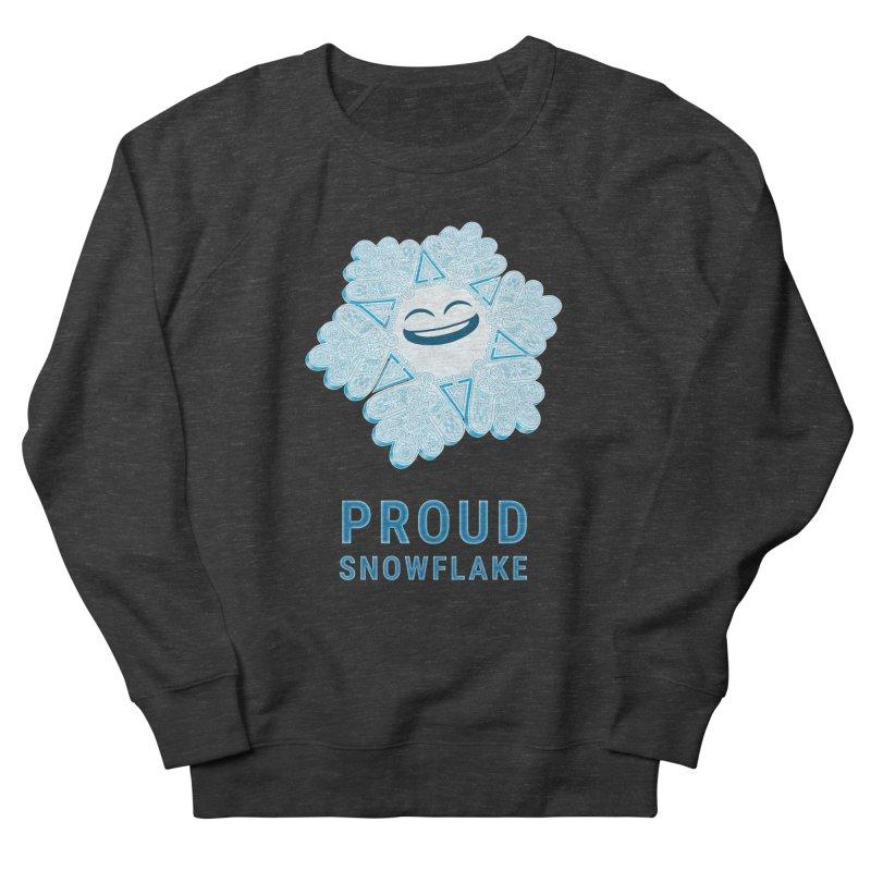 Proud Snowflake Women's French Terry Sweatshirt by BRETT WISEMAN