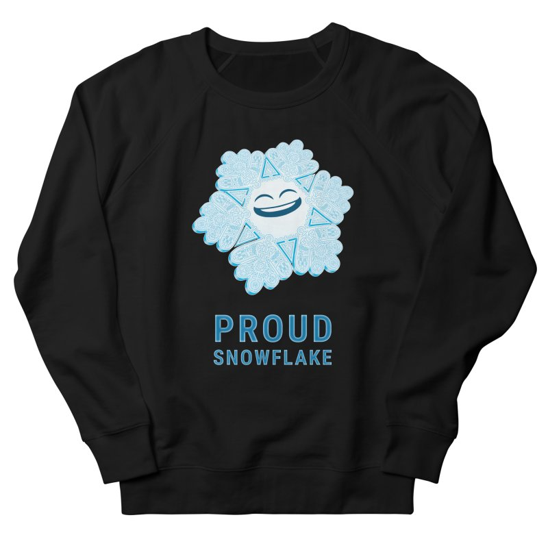 Proud Snowflake Women's French Terry Sweatshirt by BRETT WISEMAN