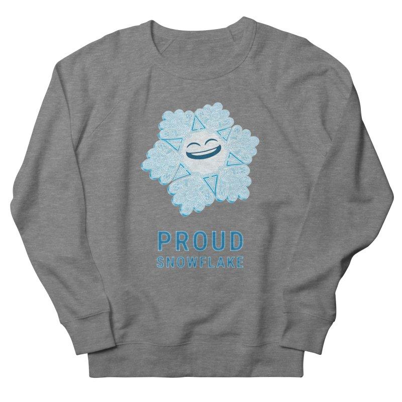 Proud Snowflake Men's Sweatshirt by BRETT WISEMAN