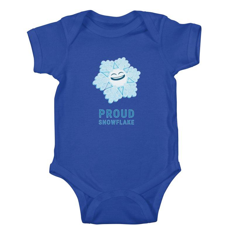 Proud Snowflake Kids Baby Bodysuit by BRETT WISEMAN