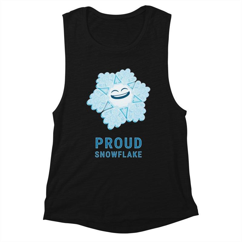 Proud Snowflake Women's Tank by BRETT WISEMAN