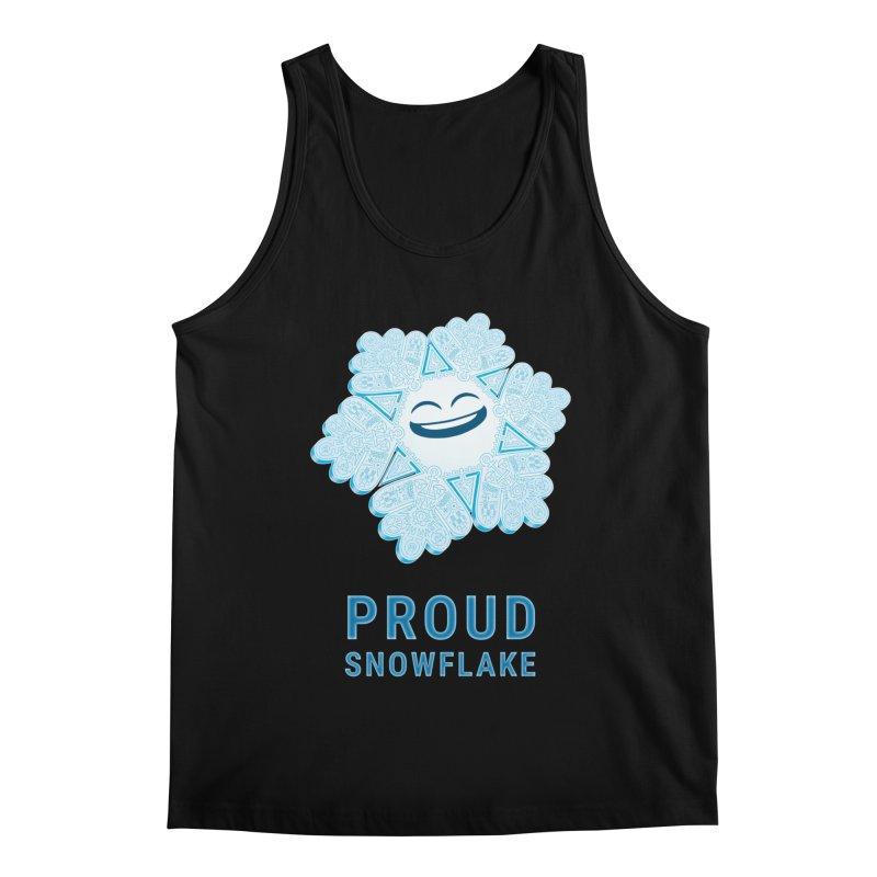 Proud Snowflake Men's Regular Tank by BRETT WISEMAN