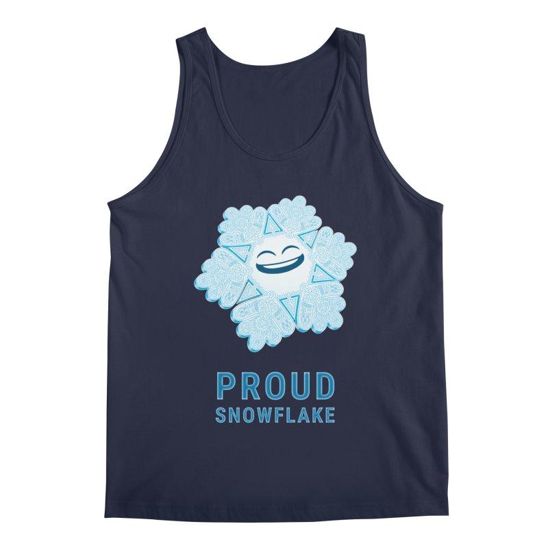 Proud Snowflake Men's Tank by BRETT WISEMAN