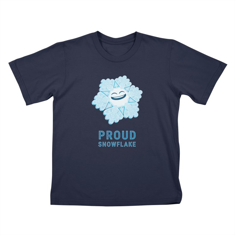Proud Snowflake Kids Toddler T-Shirt by BRETT WISEMAN