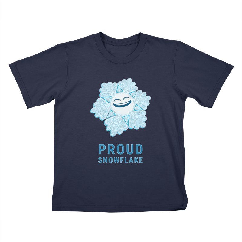 Proud Snowflake Kids T-Shirt by BRETT WISEMAN
