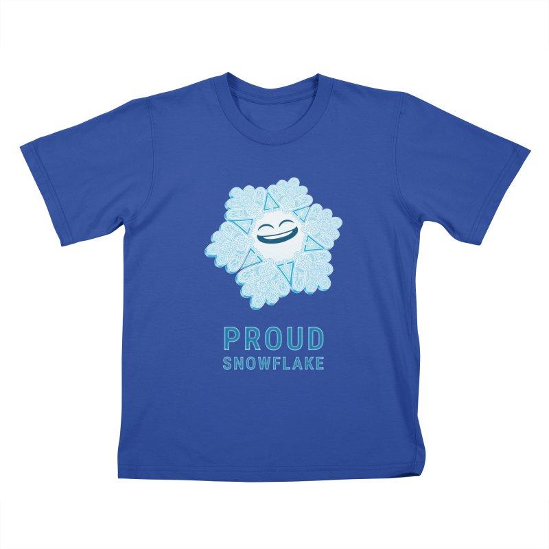 Proud Snowflake Kids T-Shirt by BRETT WISEMAN