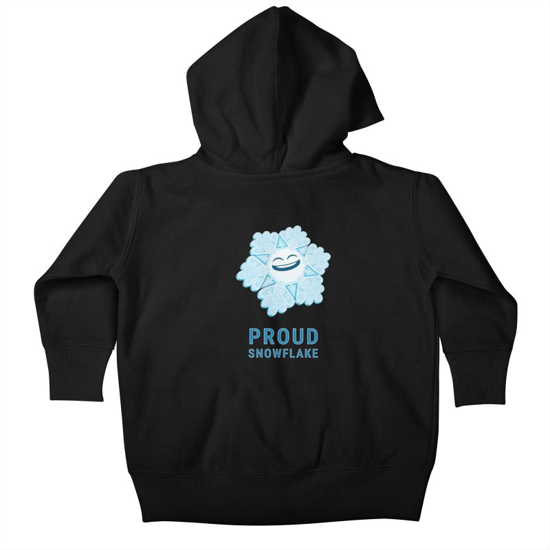 Proud Snowflake Kids Baby Zip-Up Hoody by BRETT WISEMAN