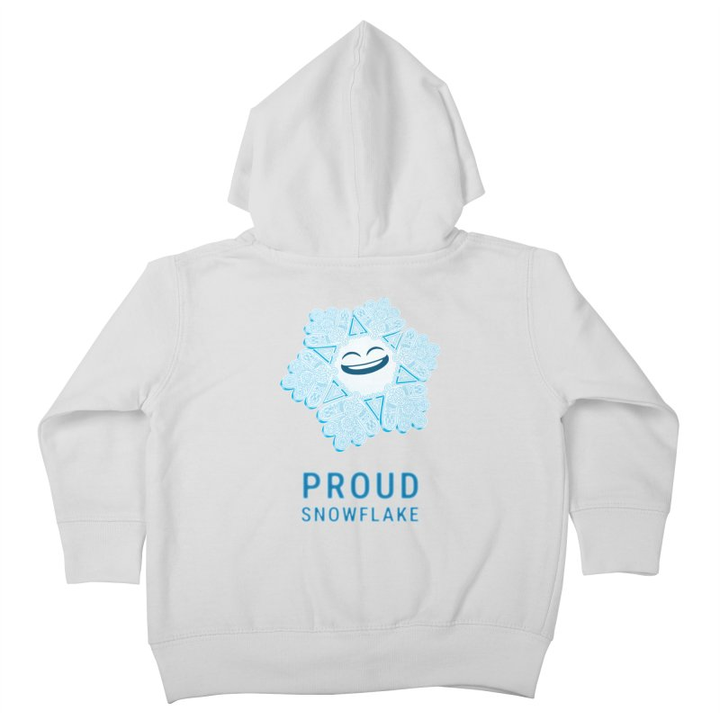 Proud Snowflake Kids Toddler Zip-Up Hoody by BRETT WISEMAN