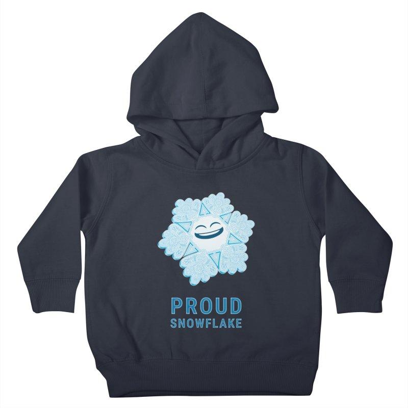 Proud Snowflake Kids Toddler Pullover Hoody by BRETT WISEMAN
