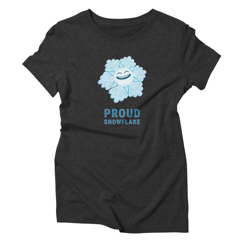 Proud Snowflake Women's T-Shirt by BRETT WISEMAN