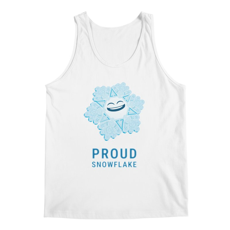 Proud Snowflake Men's Regular Tank by BRETT WISEMAN