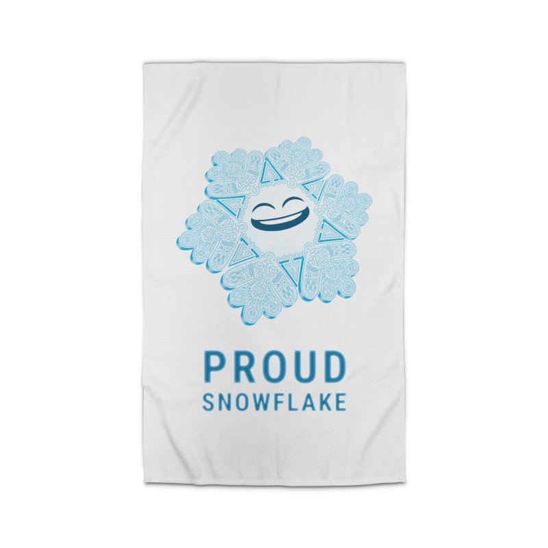 Proud Snowflake Home Rug by BRETT WISEMAN