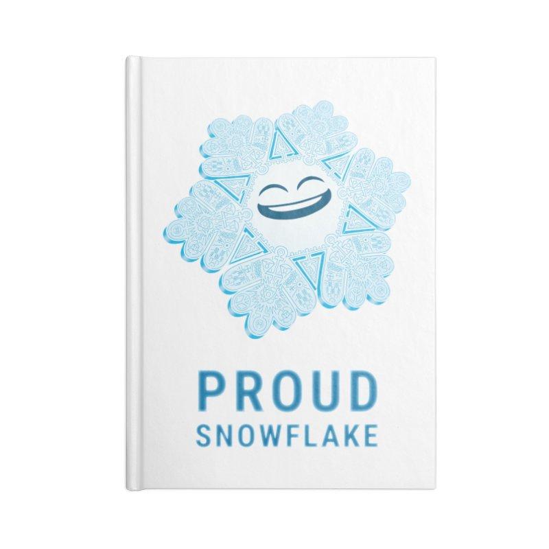 Proud Snowflake Accessories Notebook by BRETT WISEMAN