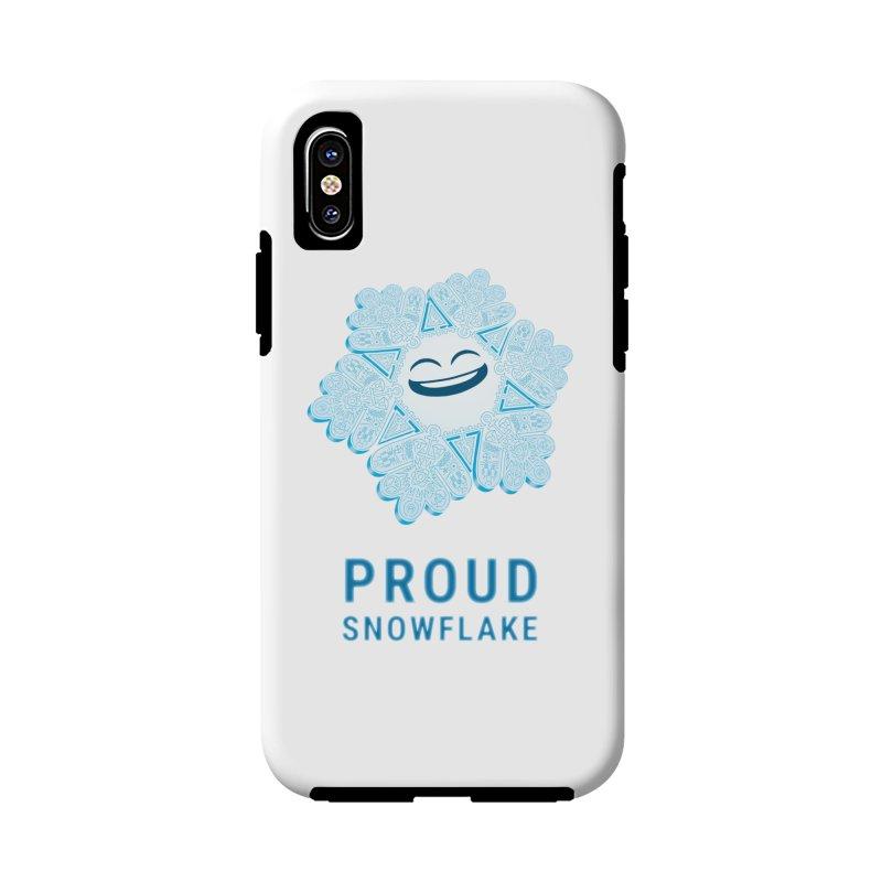 Proud Snowflake Accessories Phone Case by BRETT WISEMAN