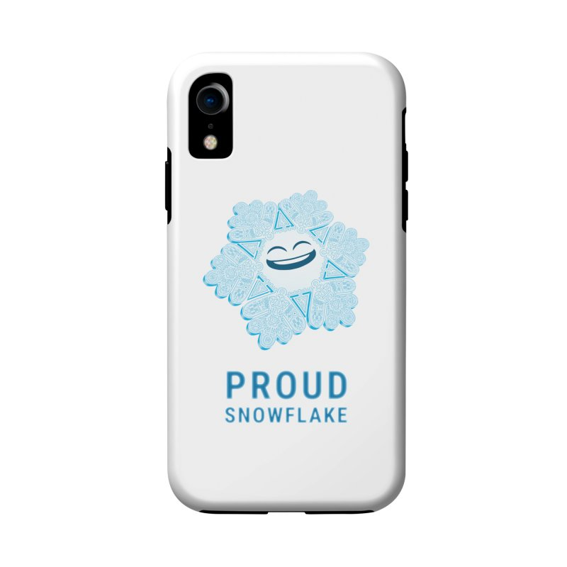 Proud Snowflake Accessories Phone Case by BRETT WISEMAN