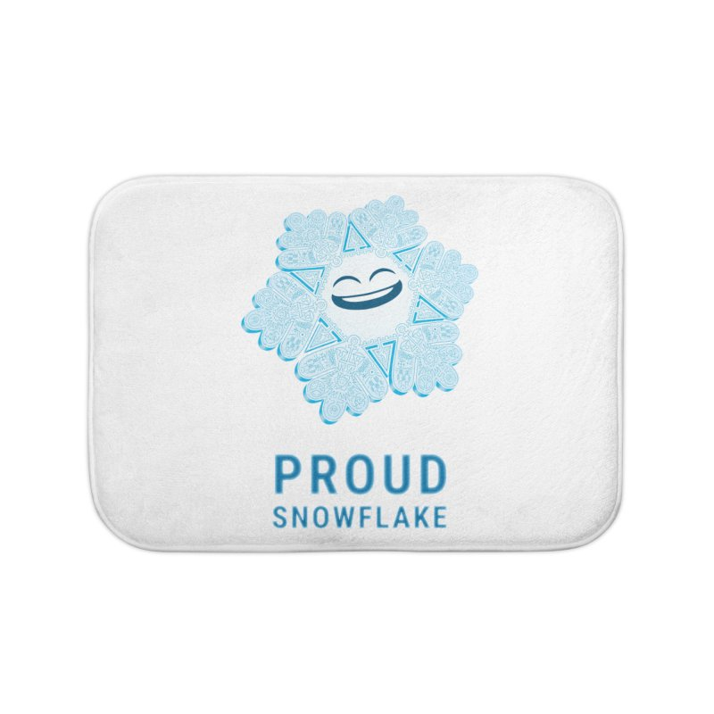 Proud Snowflake Home Bath Mat by BRETT WISEMAN