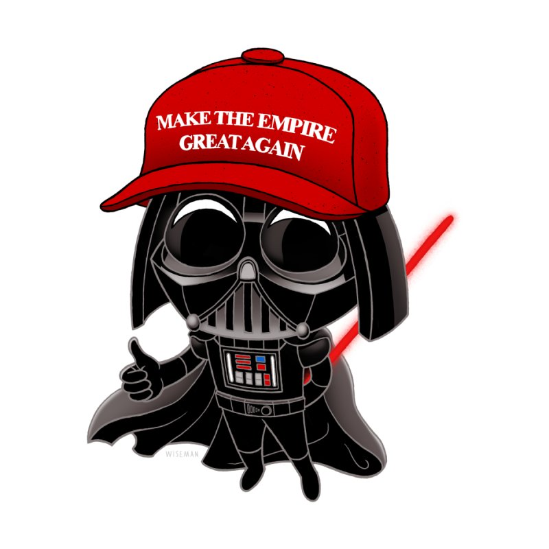 Make the Empire Great Again Accessories Bag by BRETT WISEMAN
