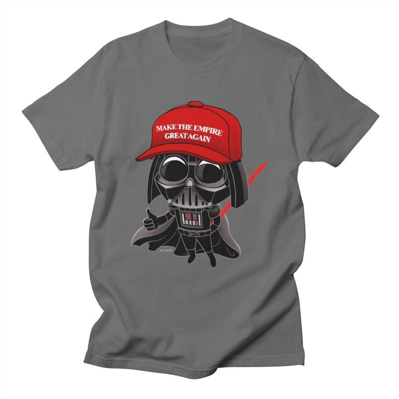 Make the Empire Great Again Men's T-Shirt by BRETT WISEMAN