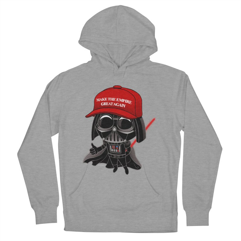 Make the Empire Great Again Men's French Terry Pullover Hoody by BRETT WISEMAN