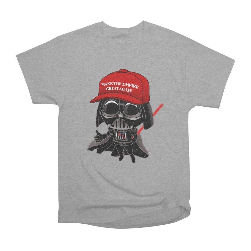 Make the Empire Great Again Women's Heavyweight Unisex T-Shirt by BRETT WISEMAN
