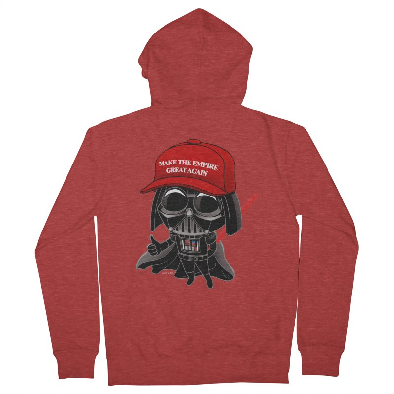 Make the Empire Great Again Women's French Terry Zip-Up Hoody by BRETT WISEMAN