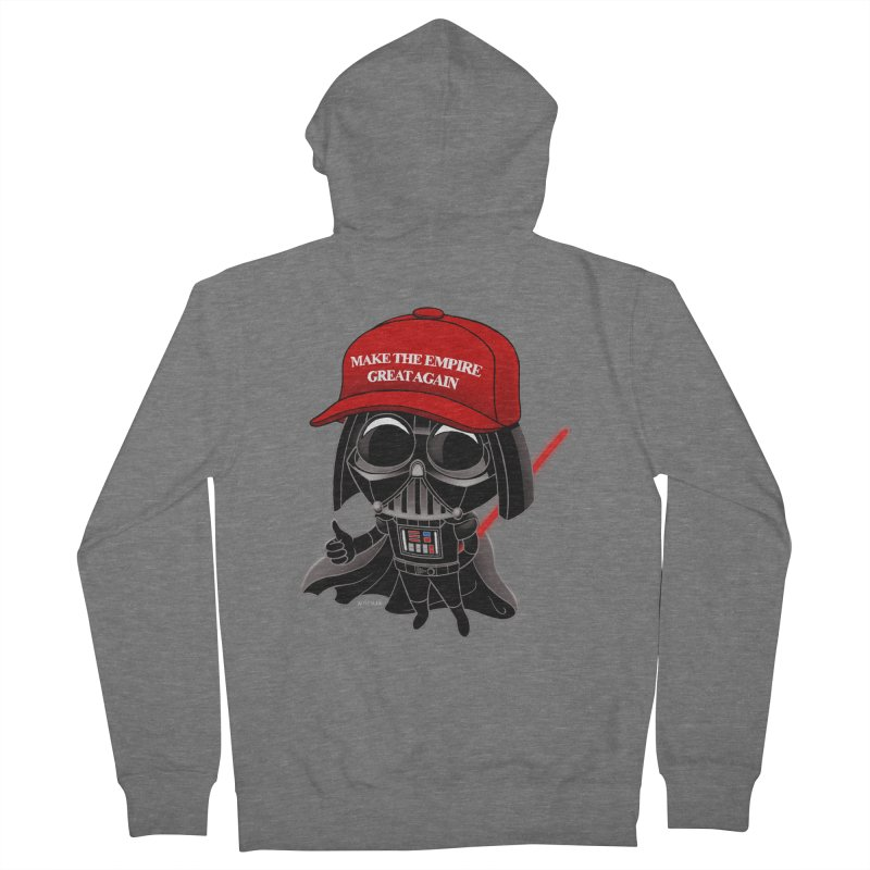 Make the Empire Great Again Men's French Terry Zip-Up Hoody by BRETT WISEMAN