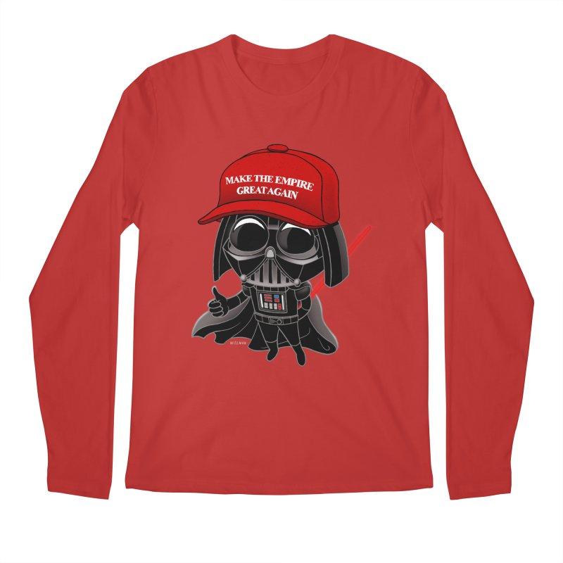 Make the Empire Great Again Men's Regular Longsleeve T-Shirt by BRETT WISEMAN