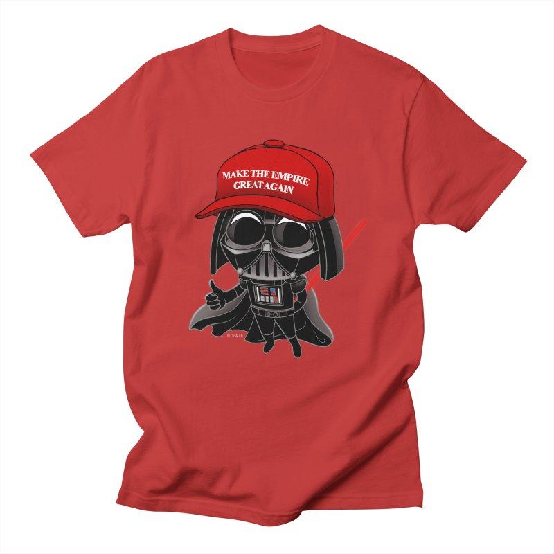 Make the Empire Great Again Women's Regular Unisex T-Shirt by BRETT WISEMAN