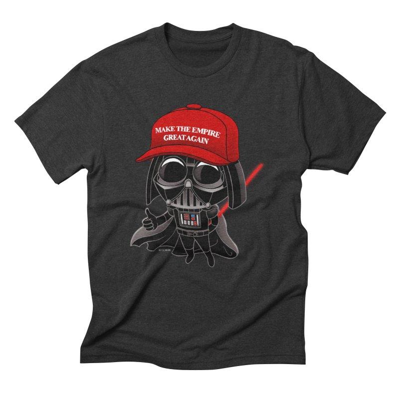 Make the Empire Great Again Men's Triblend T-Shirt by BRETT WISEMAN