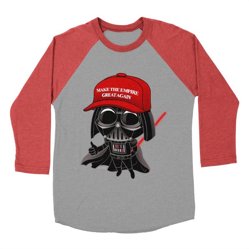 Make the Empire Great Again Women's Baseball Triblend T-Shirt by BRETT WISEMAN