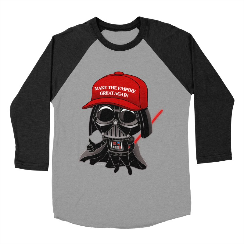Make the Empire Great Again Women's Baseball Triblend Longsleeve T-Shirt by BRETT WISEMAN