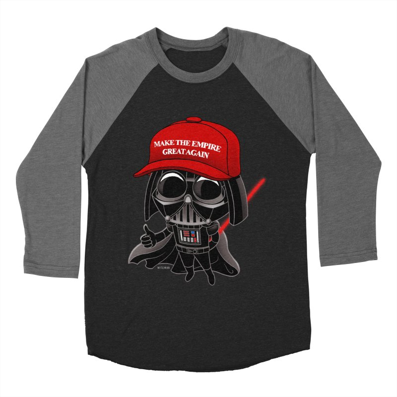 Make the Empire Great Again Men's Baseball Triblend Longsleeve T-Shirt by BRETT WISEMAN