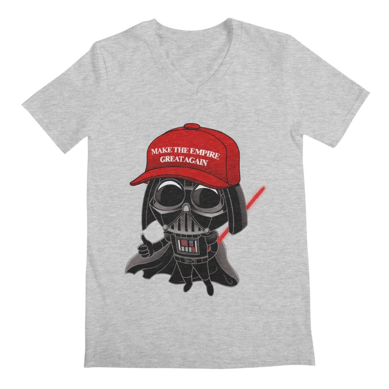 Make the Empire Great Again Men's V-Neck by BRETT WISEMAN