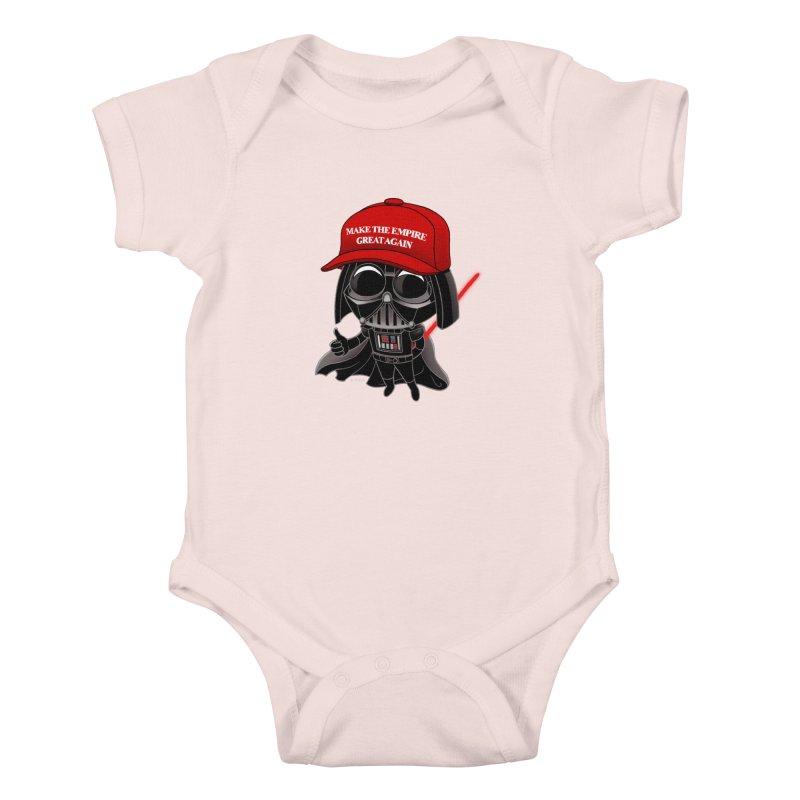 Make the Empire Great Again Kids Baby Bodysuit by BRETT WISEMAN