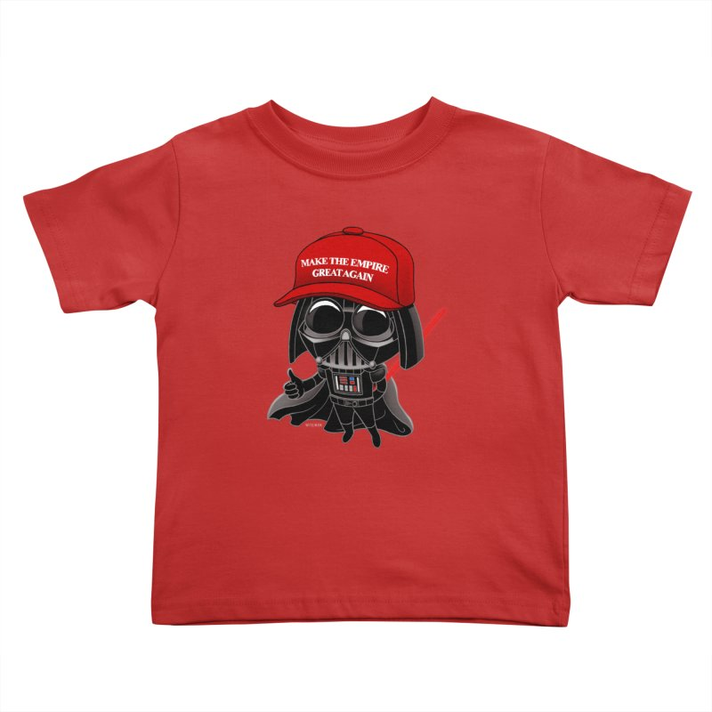 Make the Empire Great Again Kids Toddler T-Shirt by BRETT WISEMAN