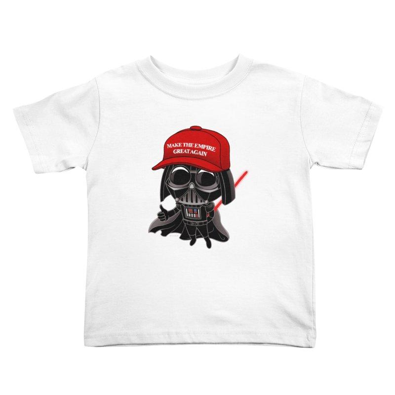 Make the Empire Great Again Kids Toddler T-Shirt by BRETT WISEMAN