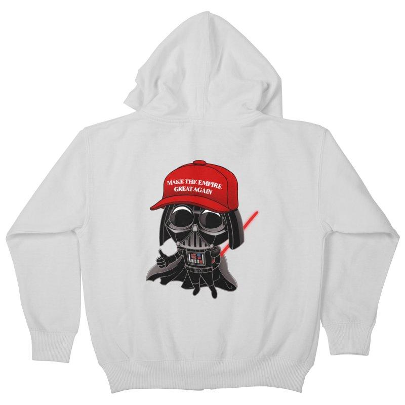 Make the Empire Great Again Kids Zip-Up Hoody by BRETT WISEMAN