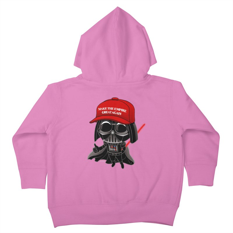 Make the Empire Great Again Kids Toddler Zip-Up Hoody by BRETT WISEMAN