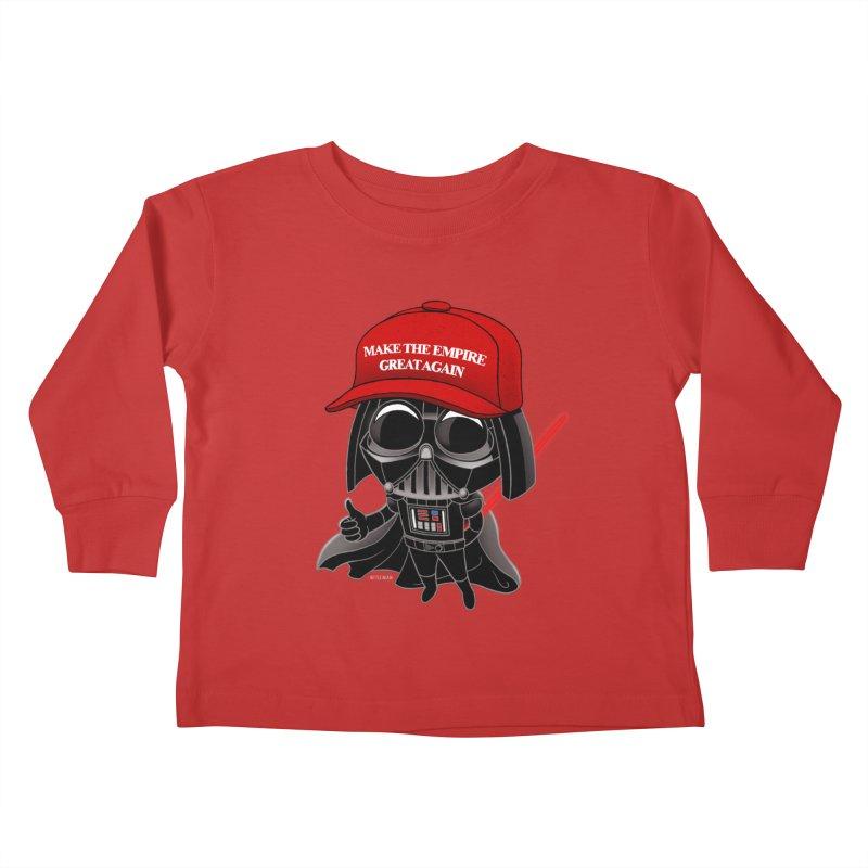 Make the Empire Great Again Kids Toddler Longsleeve T-Shirt by BRETT WISEMAN