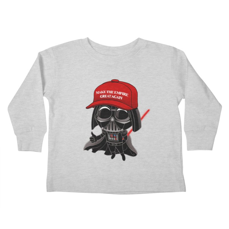 Make the Empire Great Again Kids Toddler Longsleeve T-Shirt by BRETT WISEMAN