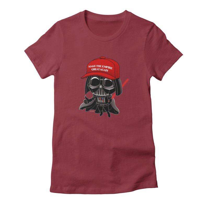 Make the Empire Great Again Women's T-Shirt by BRETT WISEMAN