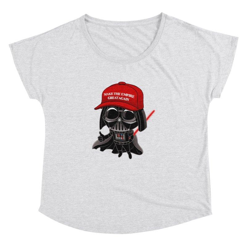 Make the Empire Great Again Women's Dolman Scoop Neck by BRETT WISEMAN