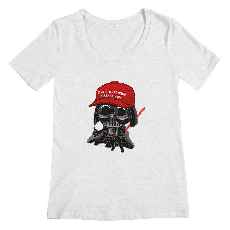 Make the Empire Great Again Women's Scoop Neck by BRETT WISEMAN