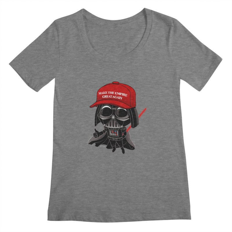 Make the Empire Great Again Women's Scoopneck by BRETT WISEMAN