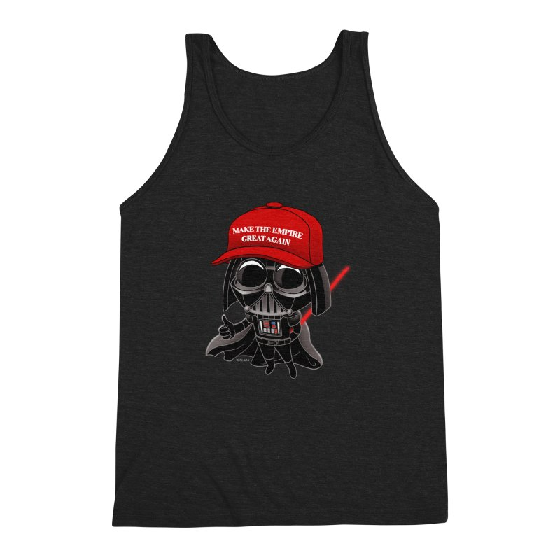 Make the Empire Great Again Men's Triblend Tank by BRETT WISEMAN