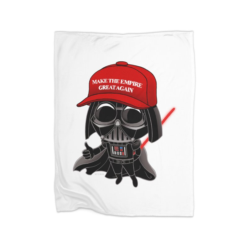 Make the Empire Great Again Home Fleece Blanket Blanket by BRETT WISEMAN