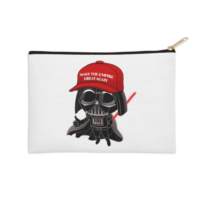 Make the Empire Great Again Accessories Zip Pouch by BRETT WISEMAN