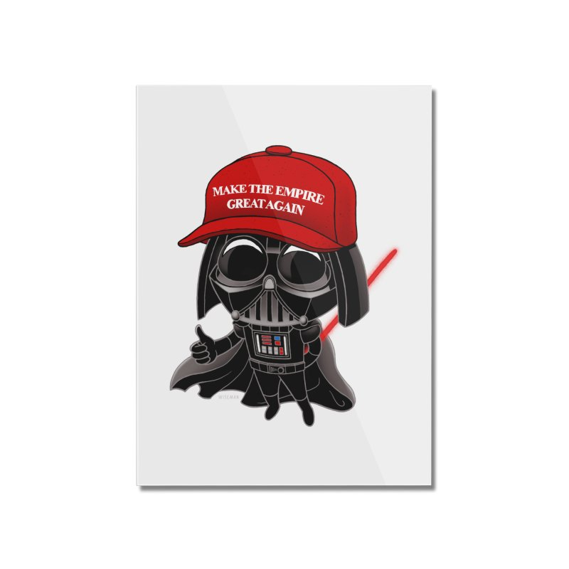 Make the Empire Great Again Home Mounted Acrylic Print by BRETT WISEMAN