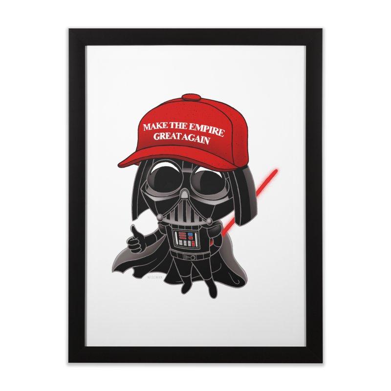 Make the Empire Great Again Home Framed Fine Art Print by BRETT WISEMAN