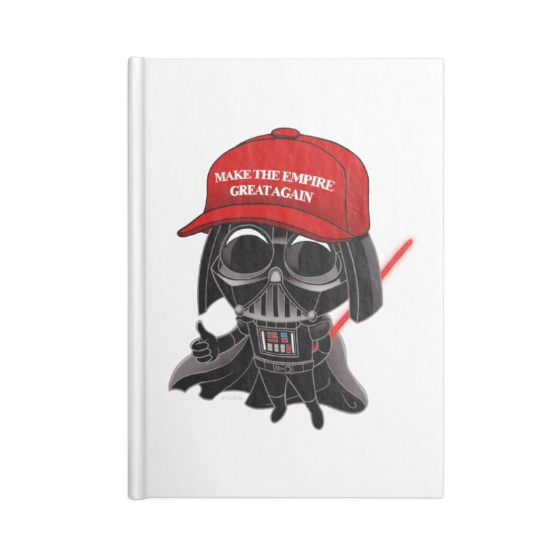 Make the Empire Great Again Accessories Lined Journal Notebook by BRETT WISEMAN